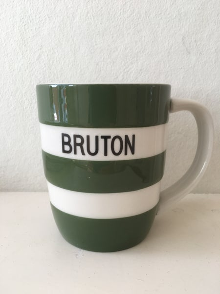 Image of BRUTON Mug - Adder Green