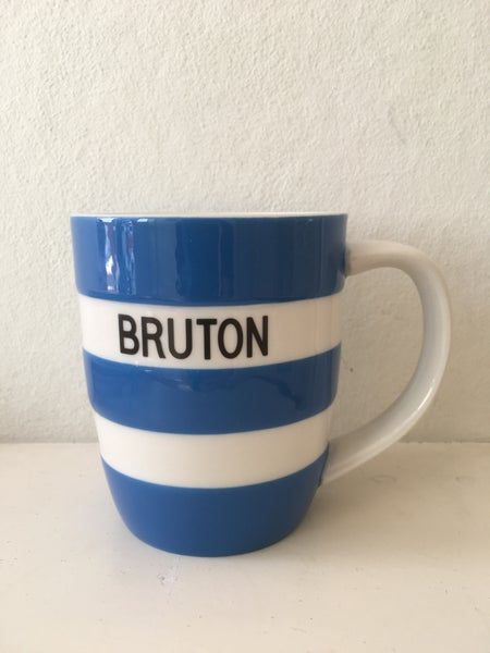 Image of BRUTON Mug - Cornish Blue
