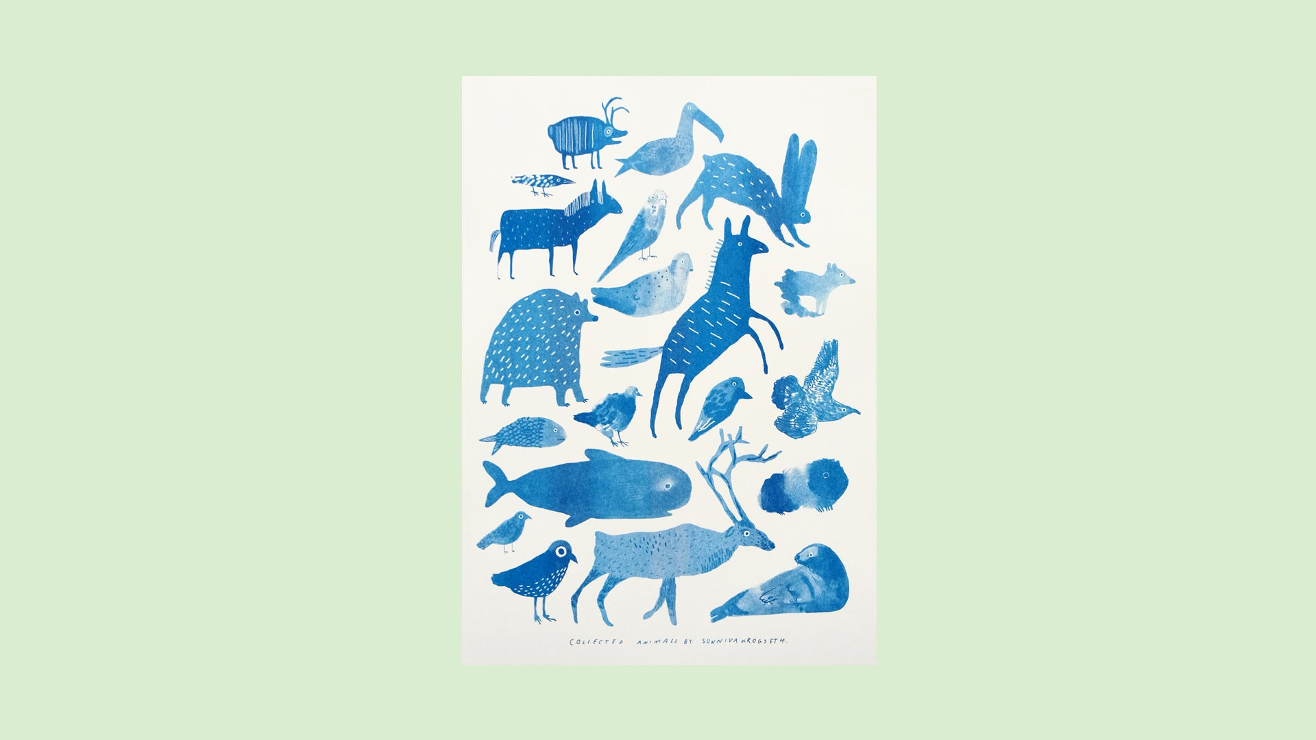 Image of Collected Animals 2019 Blue