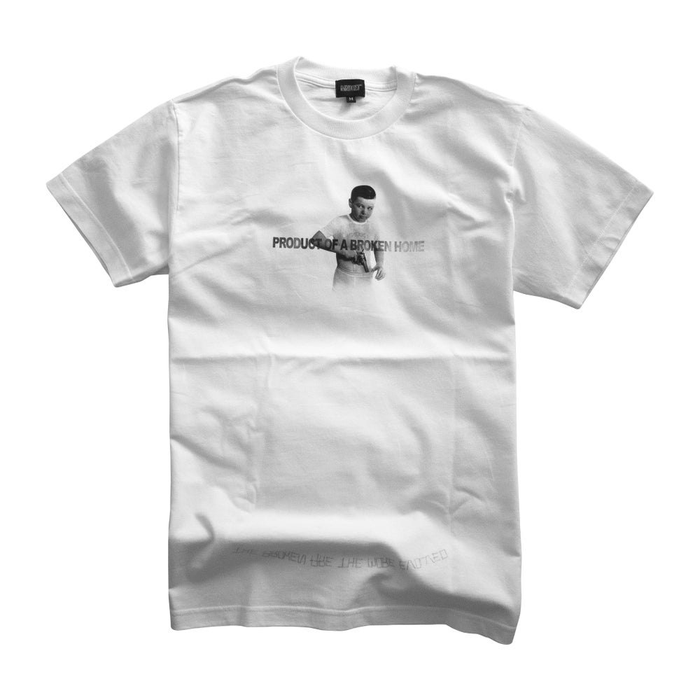 Image of Broken Home Tee (White)