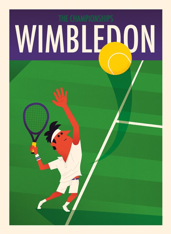 Image of Wimbledon - Serve