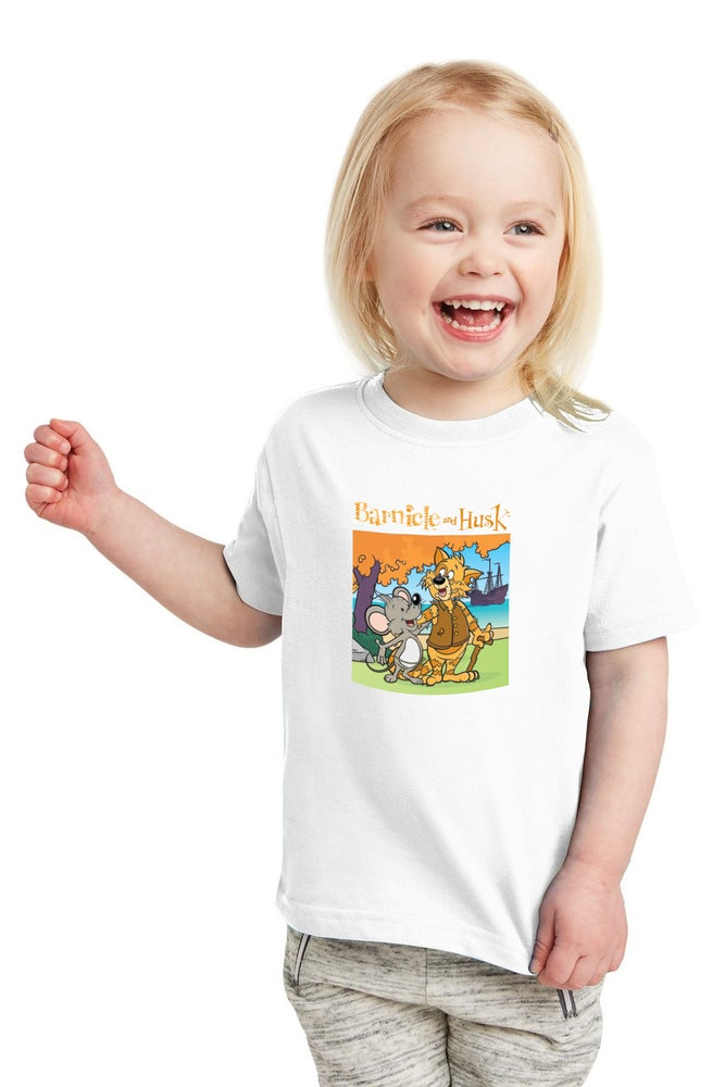 Image of Youth Storybook Shirt - White
