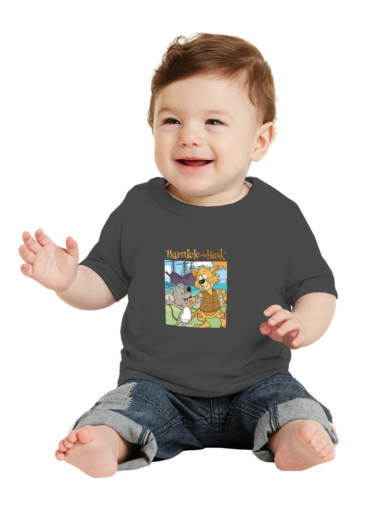 Image of Toddler Storybook Shirt - Heather Grey