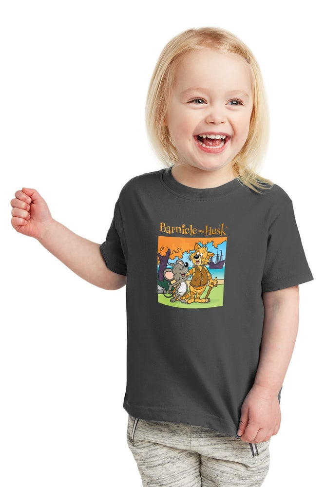 Image of Youth Storybook Shirt - Heather Grey