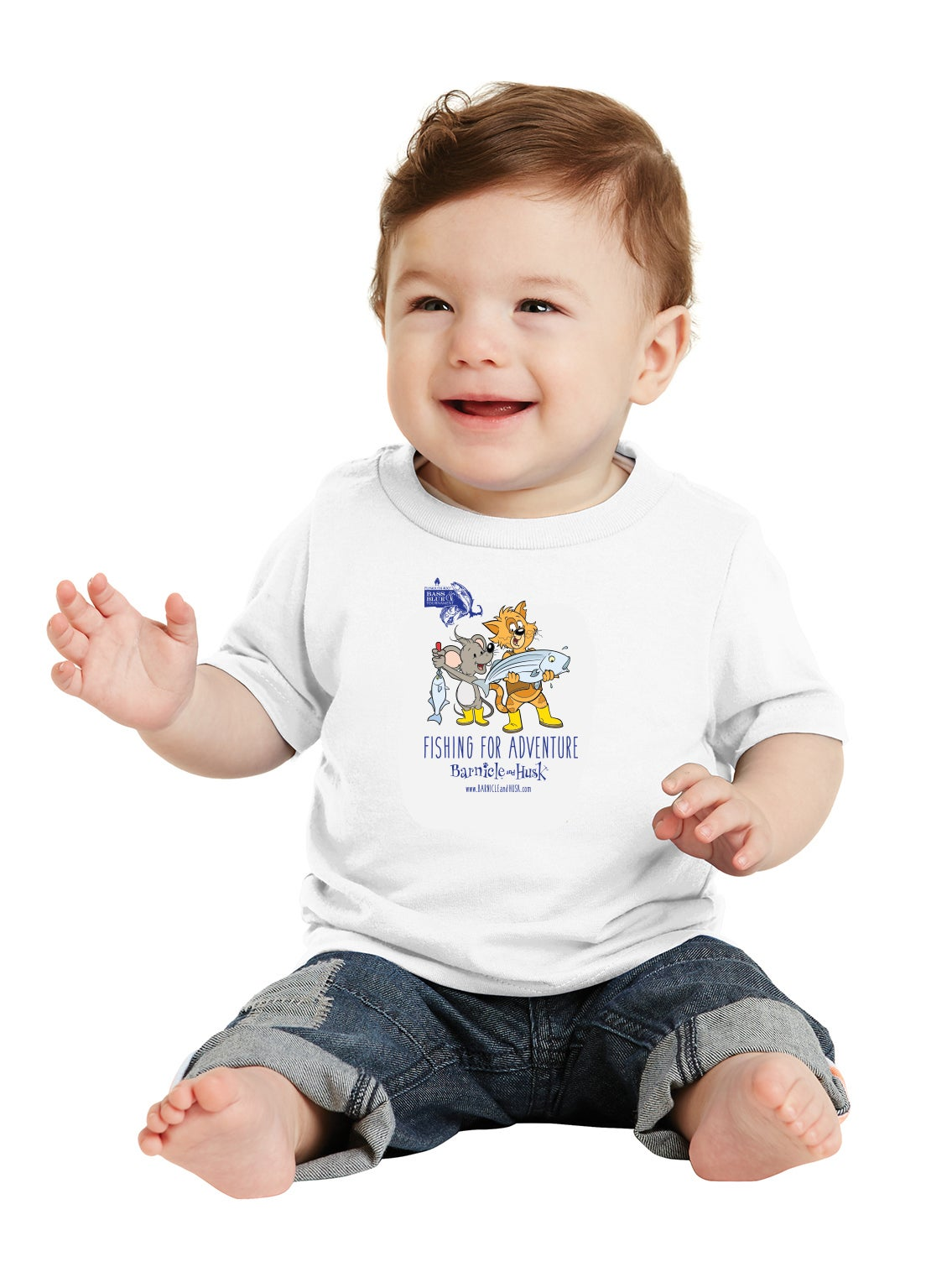 Image of Toddler Fishing Shirt