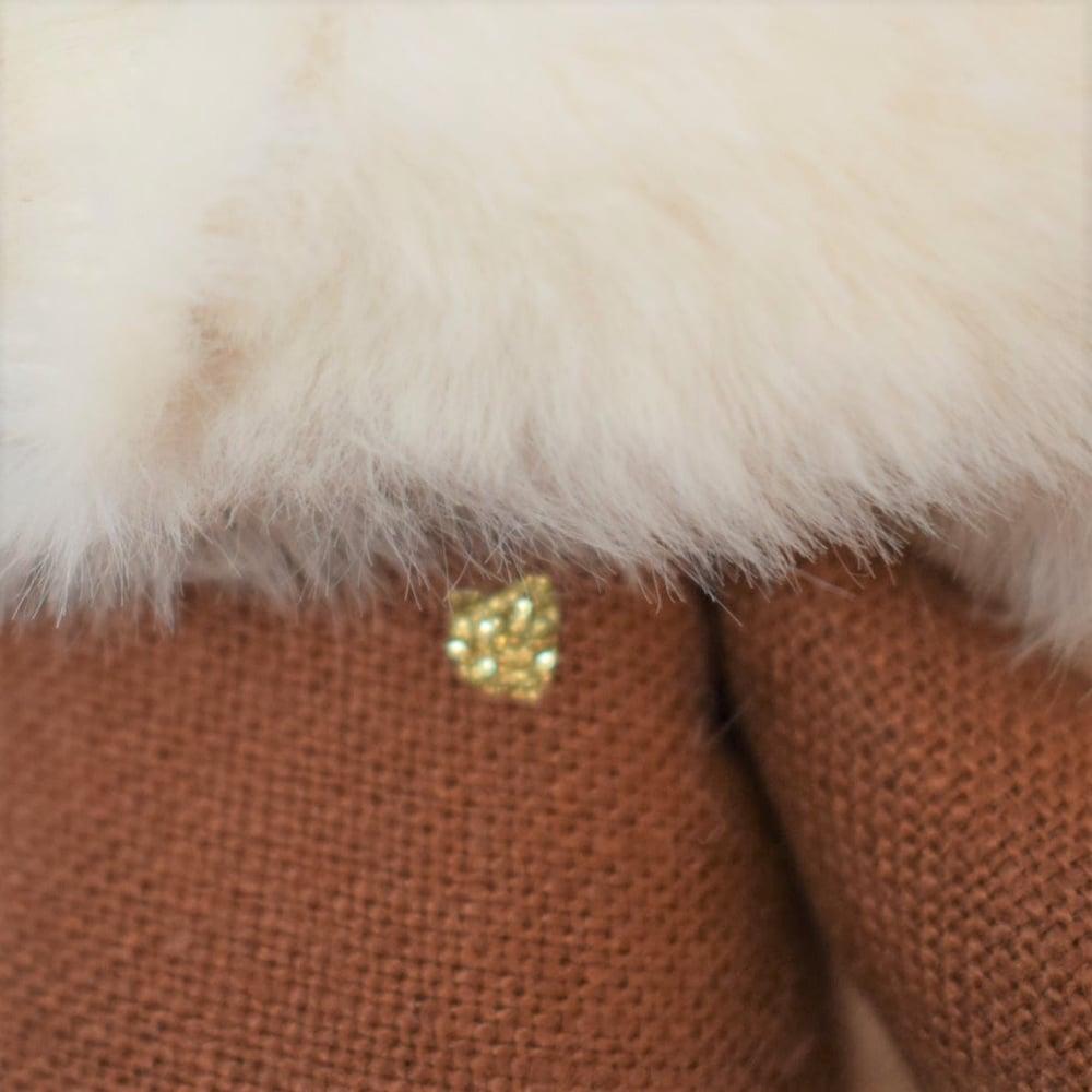 Image of *NOA - Poupée de collection renarde tenue blanche