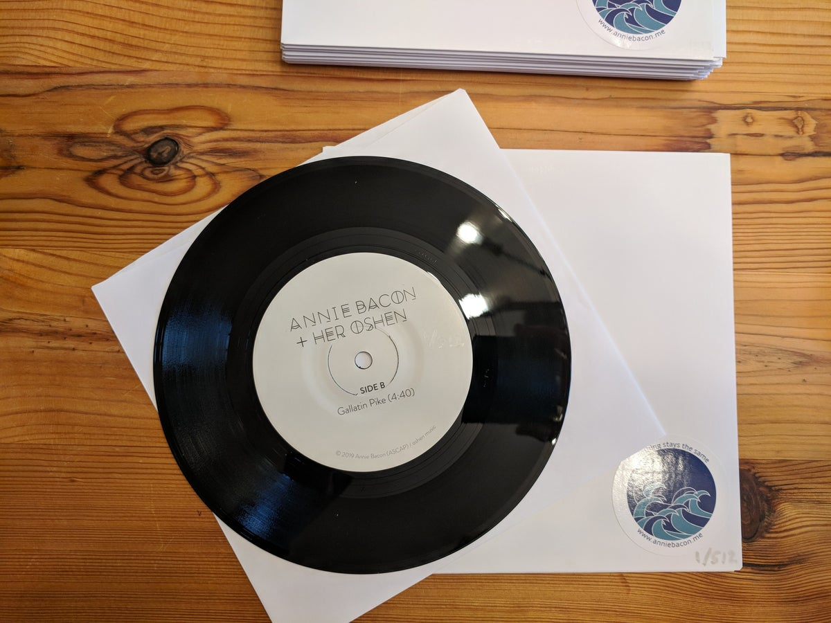"""Image of 7"""" Vinyl - Nothing Stays the Same + Gallatin Pike"""