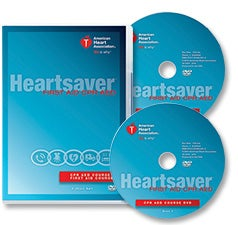 Image of Heartsaver CPR AED First Aid Provider DVD - English/Spanish