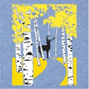 Image of Autumn Birch Trees T-Shirt | Womens LG, XXL