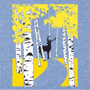 Image of Autumn Birch Trees T-Shirt