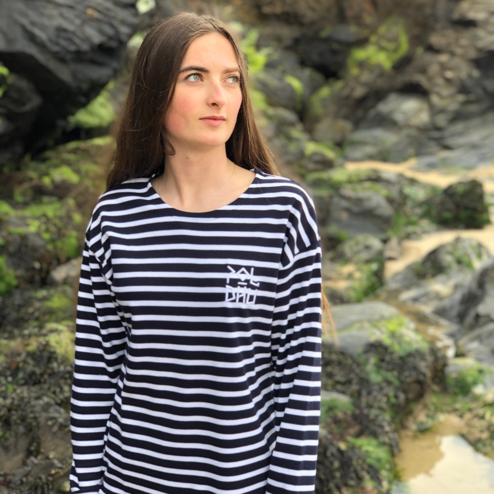 Image of ORGANIC COTTON BRETON TOP