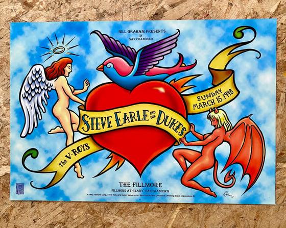 Image of Steve Earl & the Dukes poster