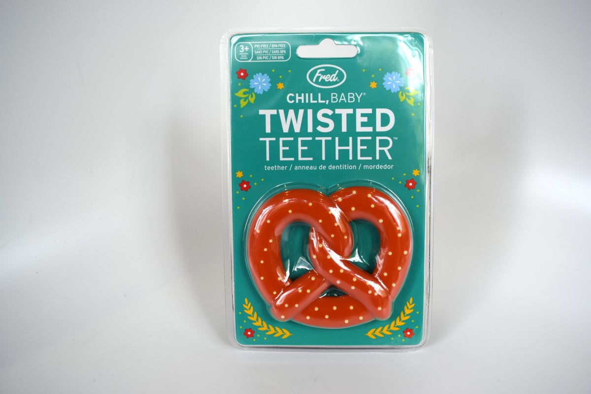 Chill, Baby Pretzel Teether