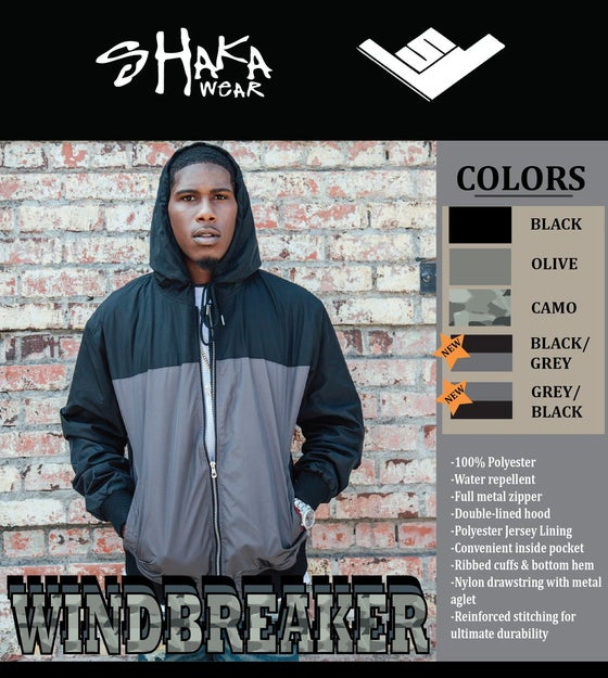 Image of Shaka WaterProof Windbreaker