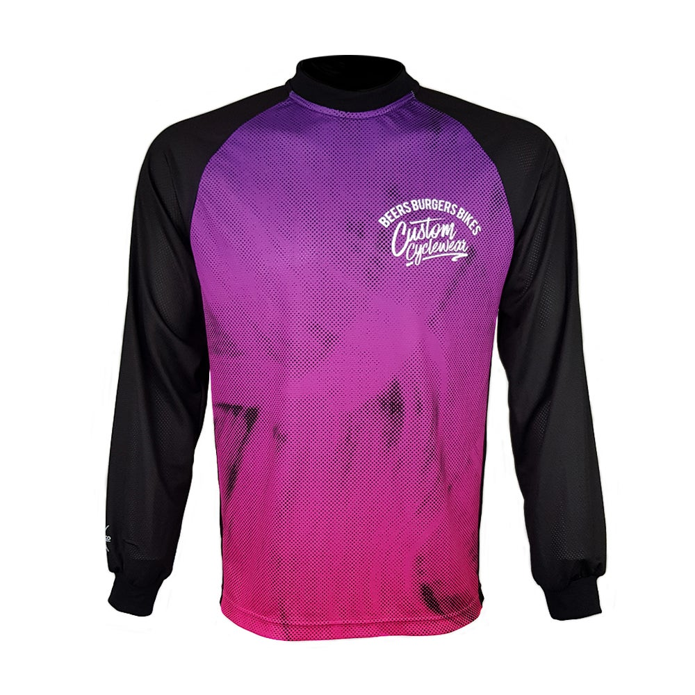 Image of Brush Stroke MTB Jersey
