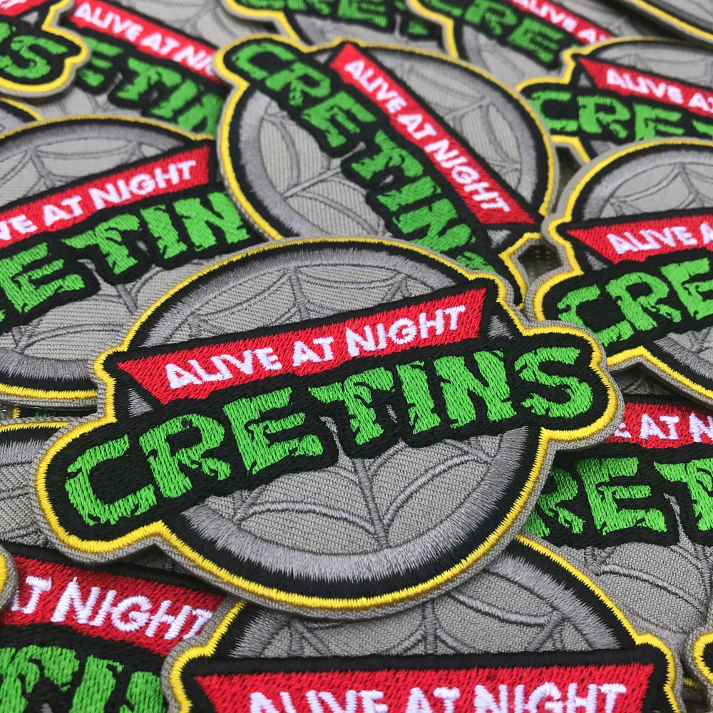 Image of Alive At Night CRETINS Patch