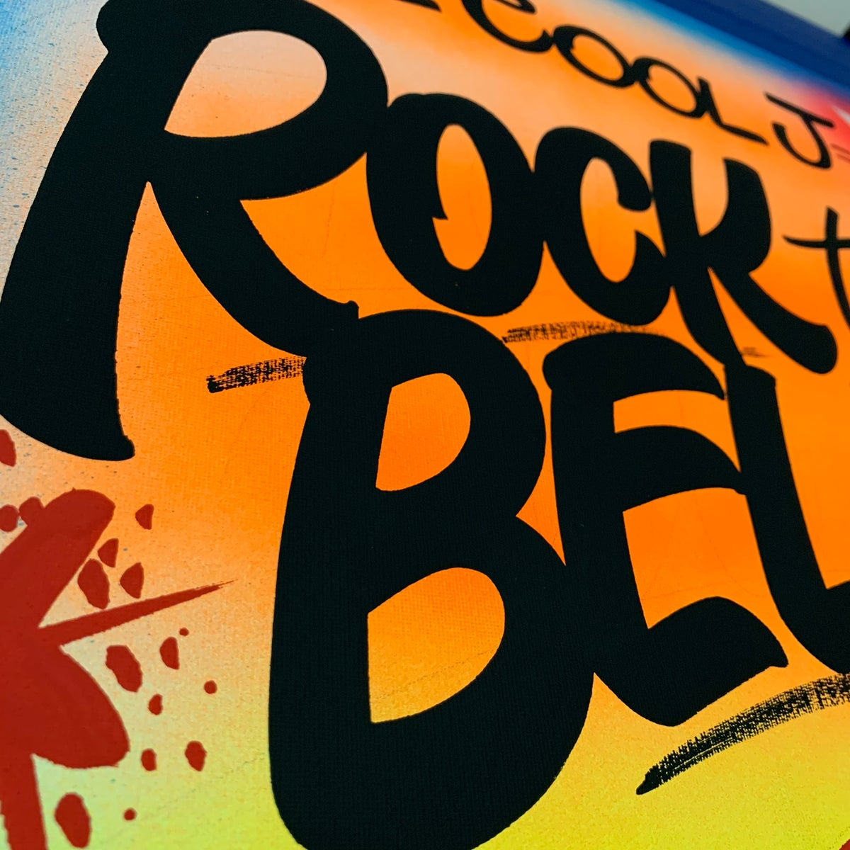 "Image of 18"" x 24"" - Rock the Bells"