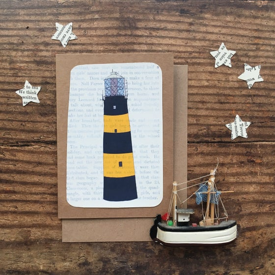 Image of St Johns Point Lighthouse Greetings Card