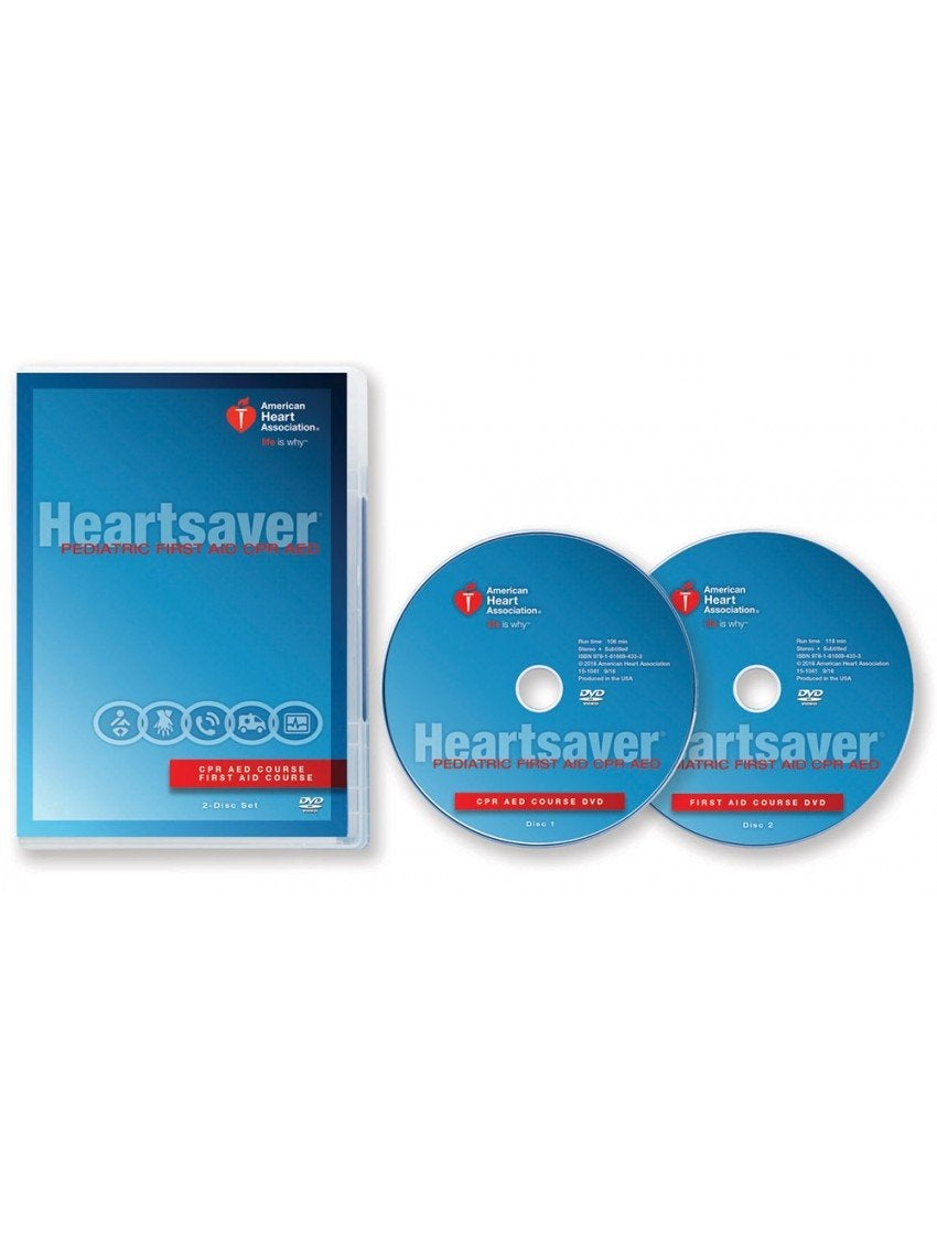 Image of Heartsaver Pediatric First Aid CPR AED DVD Set