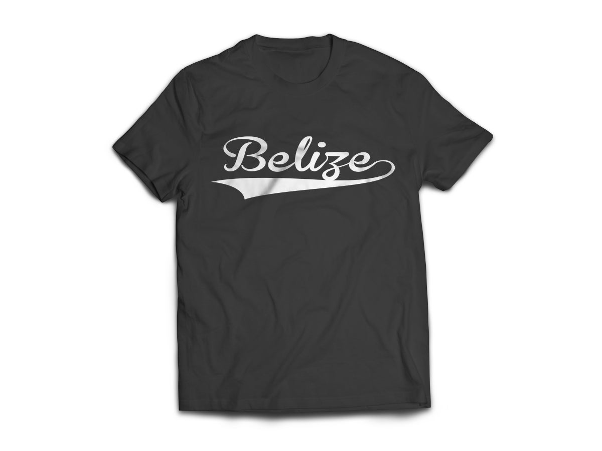Image of Belize T-Shirt - Black/White