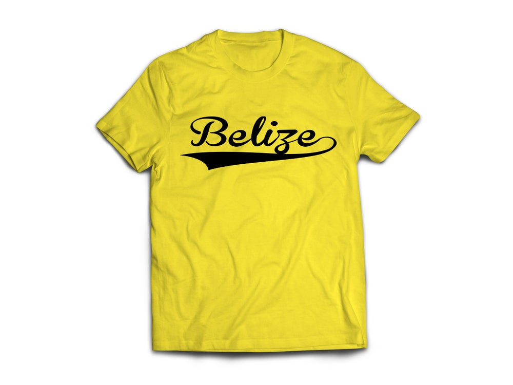 Image of Belize - T-Shirt - Yellow/Black