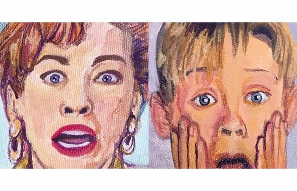 Image of Mom and Kevin/ Home Alone