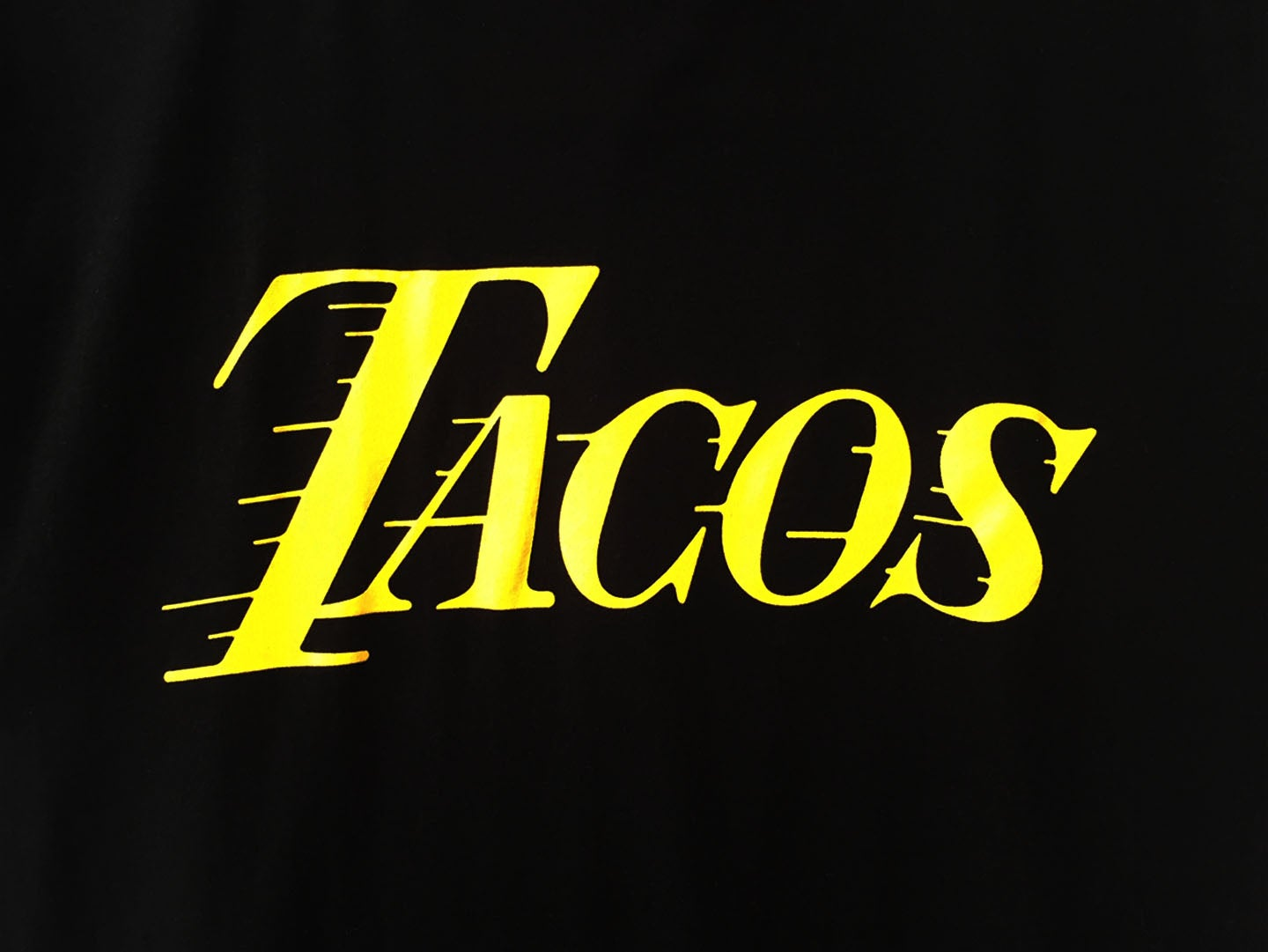 Image of Tacos (Yellow)