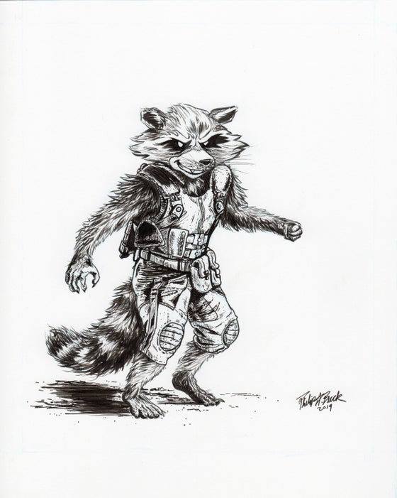 Image of Marvel's Rocket Raccoon (Only 1 Available)