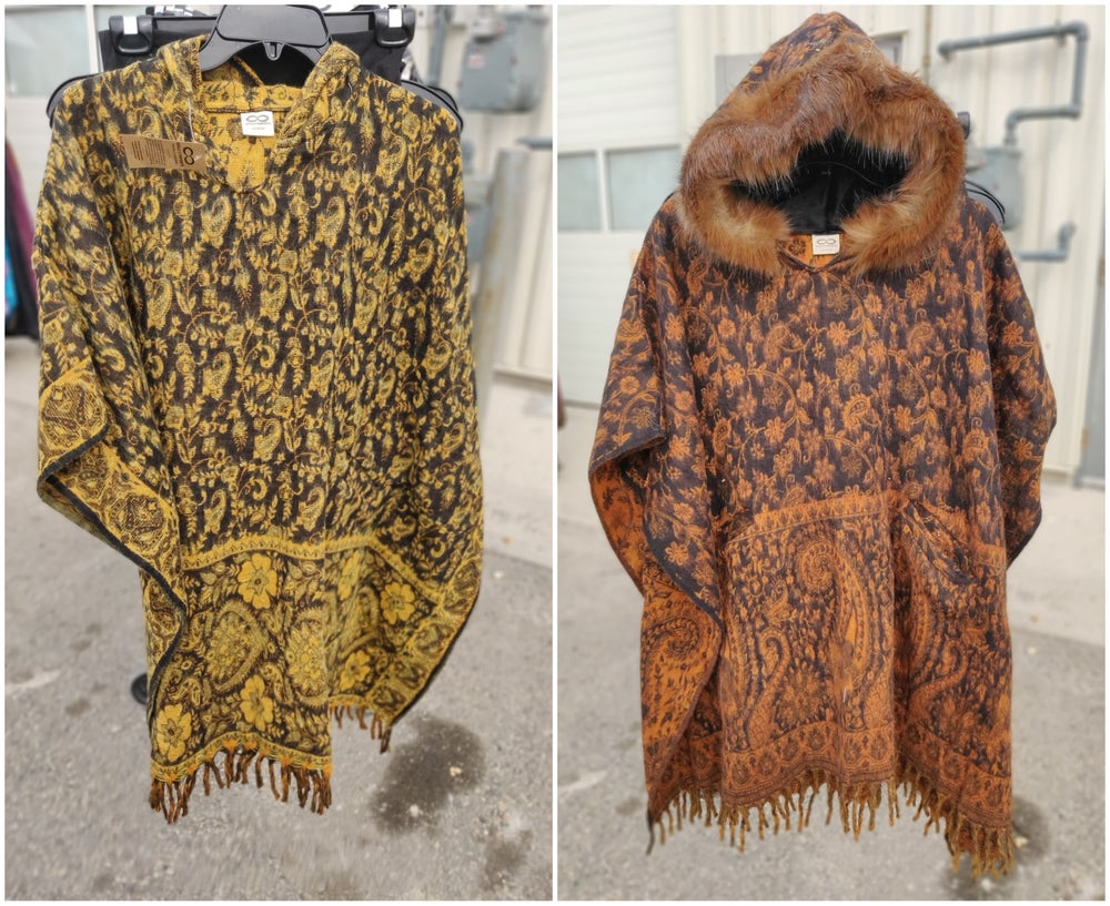 Image of Paisley Ponchos