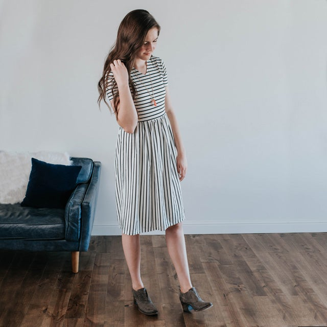 Image of Gianna Dress, Fully Lined w/ Pockets | S-3XL