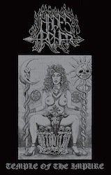 Image of HADES ARCHER 'Temple of the Impure' cassette