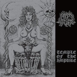 Image of HADES ARCHER 'Temple of the Impure' lp