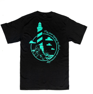 Image of Lighthouse T-Shirt (Black) - MORE COMING SOON!