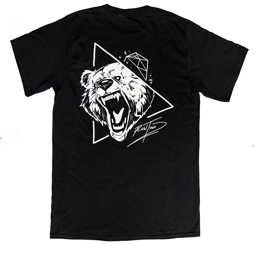 Image of Bear T-Shirt (Black)