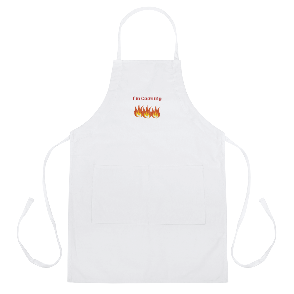 Image of I'm Cooking Apron