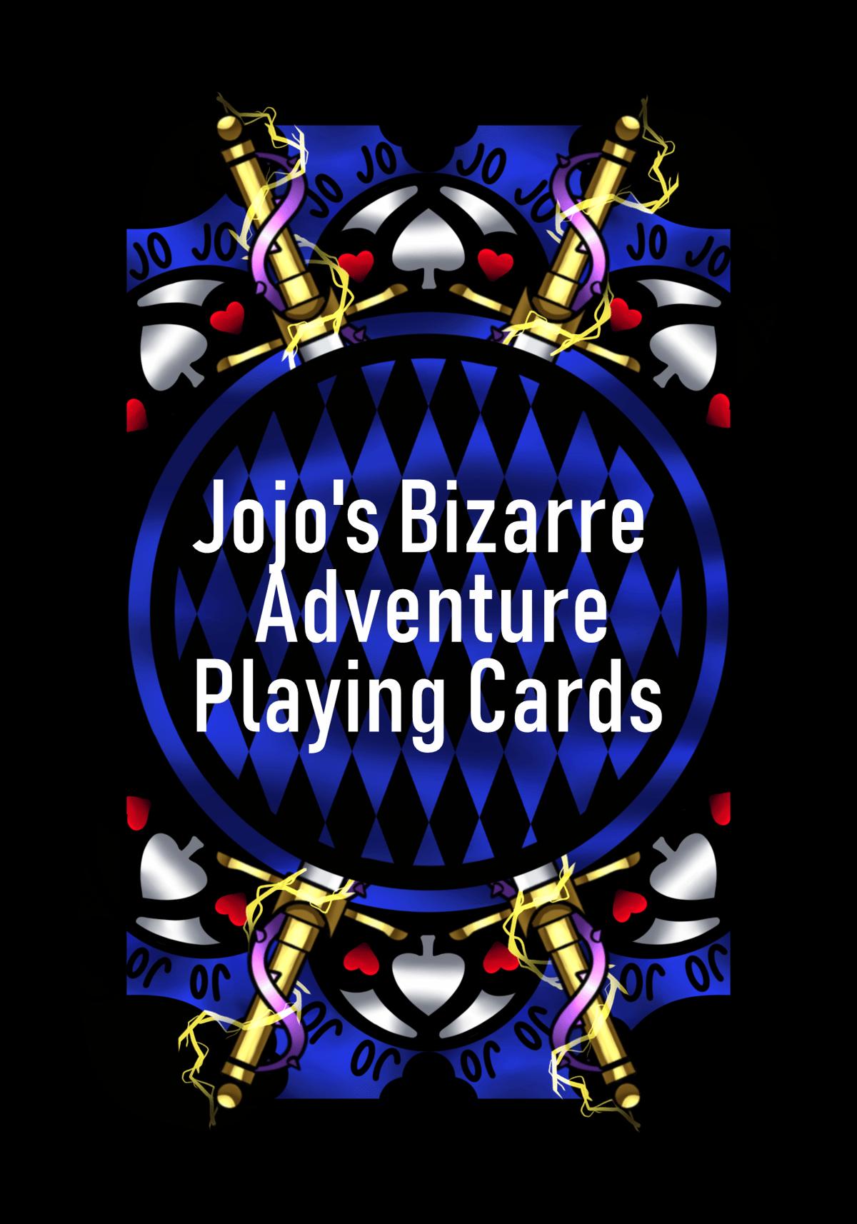 Image of Jojo's Bizarre Adventure Playing Cards