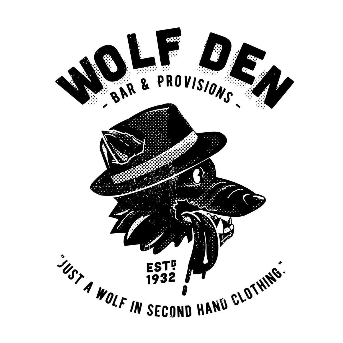 Image of Wolf Den T-shirt