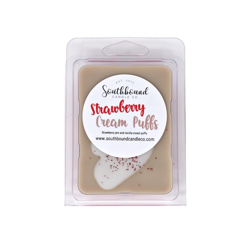 Image of Strawberry Cream Puffs Wax Melts