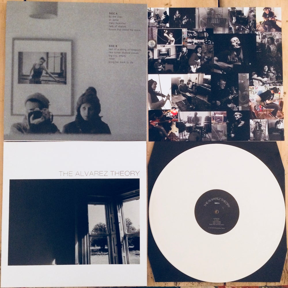 Image of THE ALVAREZ THEORY || Limited white Vinyl LP