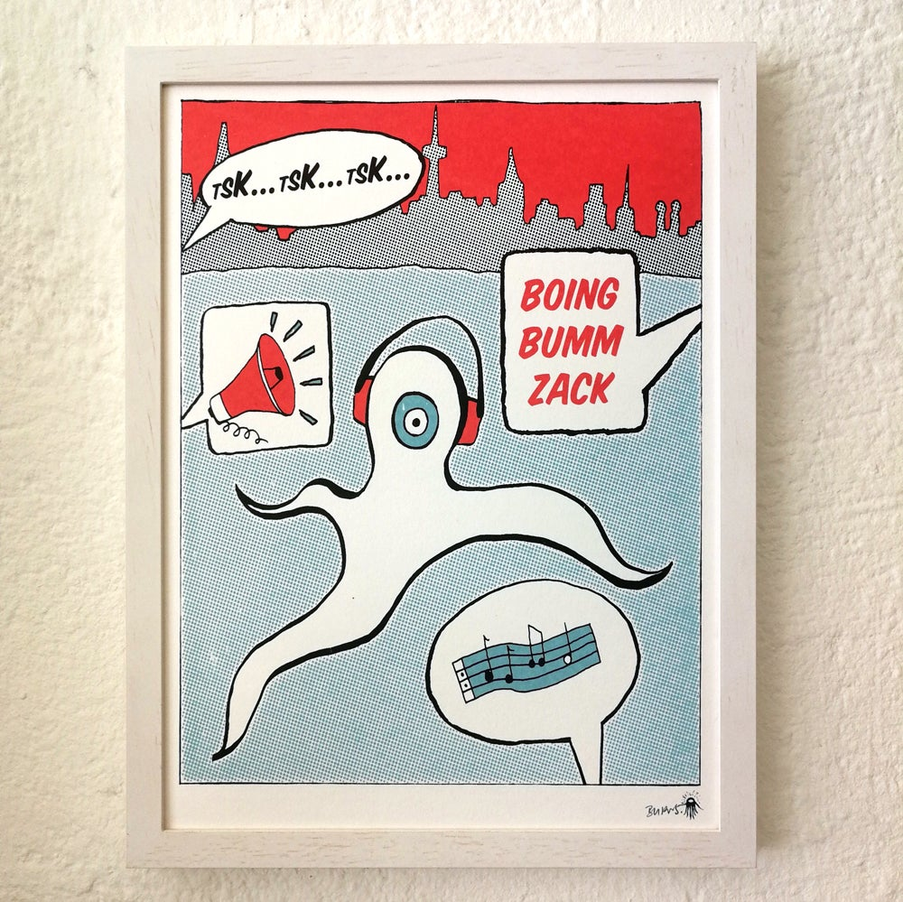 Image of >NEW!<<br>BOING BUMM ZACK<br> (24x32 series)