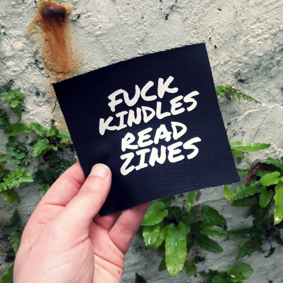Image of FUCK KINDLES PATCH