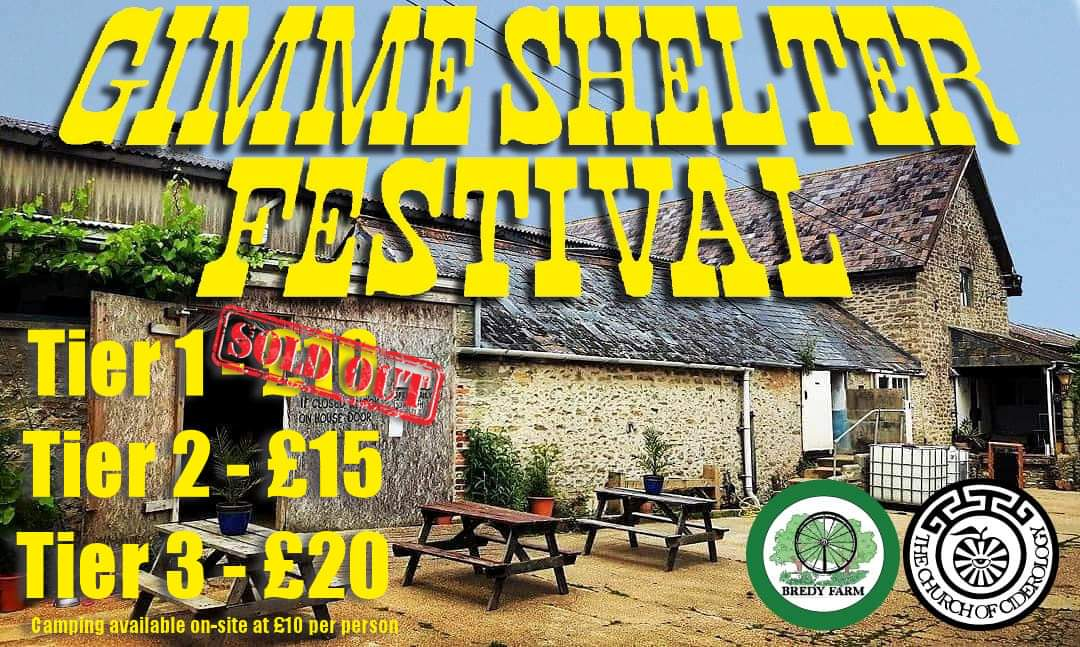Image of Gimme Shelter Festival - Saturday 3rd August 2019