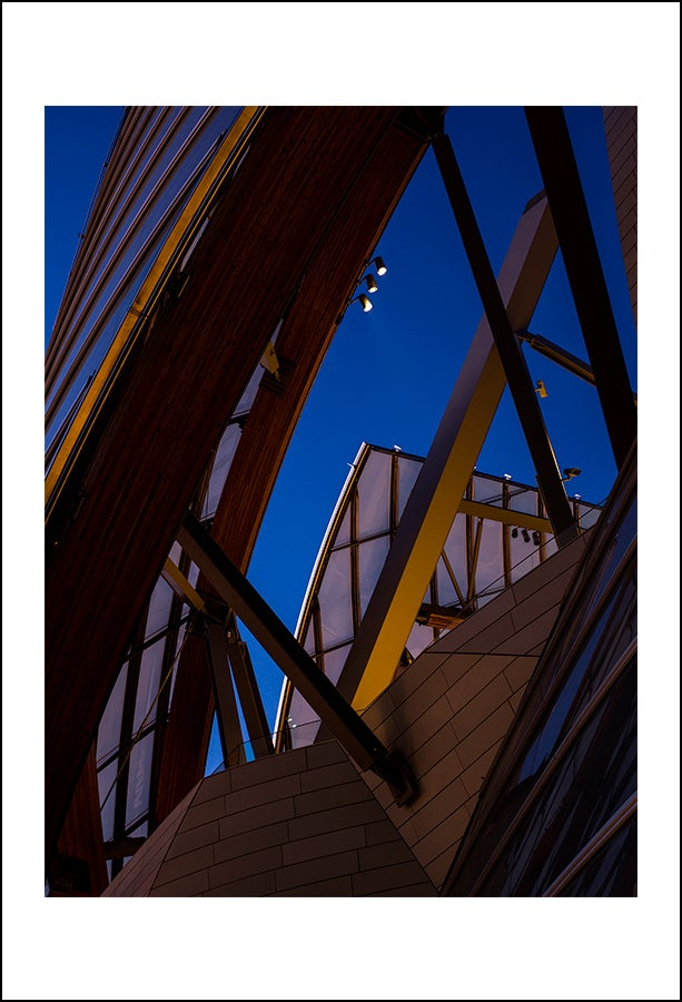 Image of Blue Hour Fondation Louis Vuitton - Rag Metallic - Edition of 30
