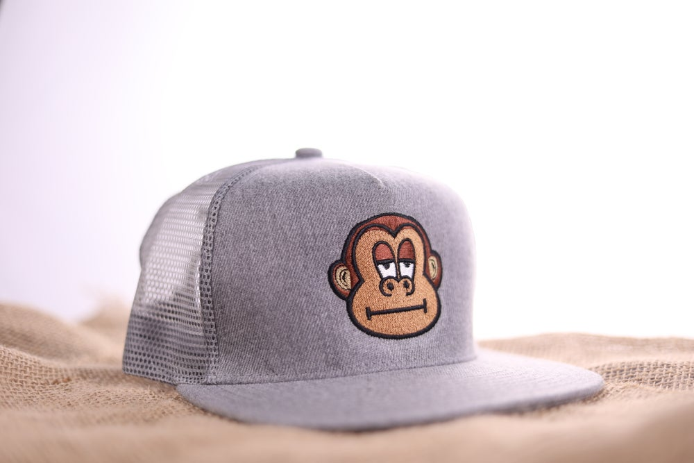 Image of Mitch Trucker Snapback - Heather Grey