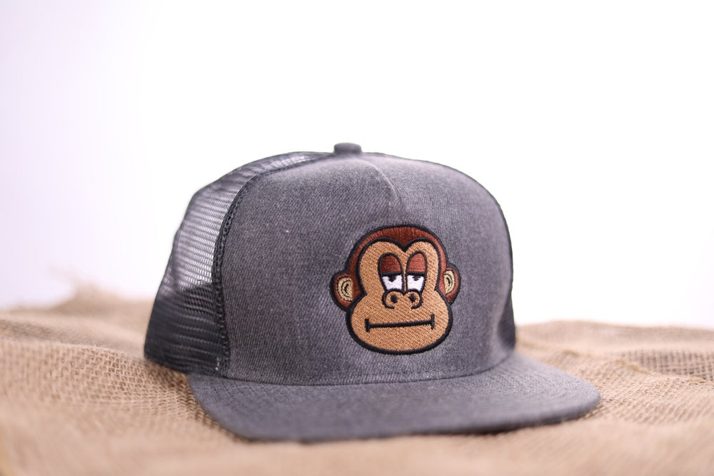Image of Mitch Trucker Snapback - Charcoal
