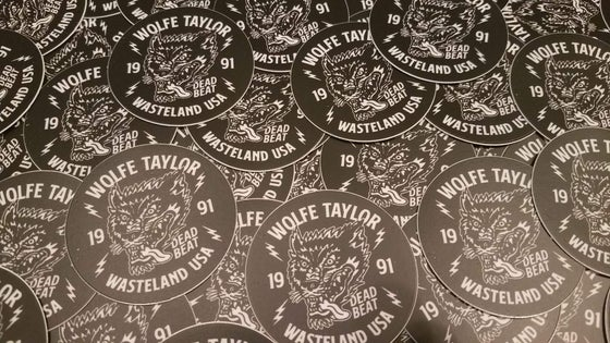 Image of DEADBEAT 91' Stickers