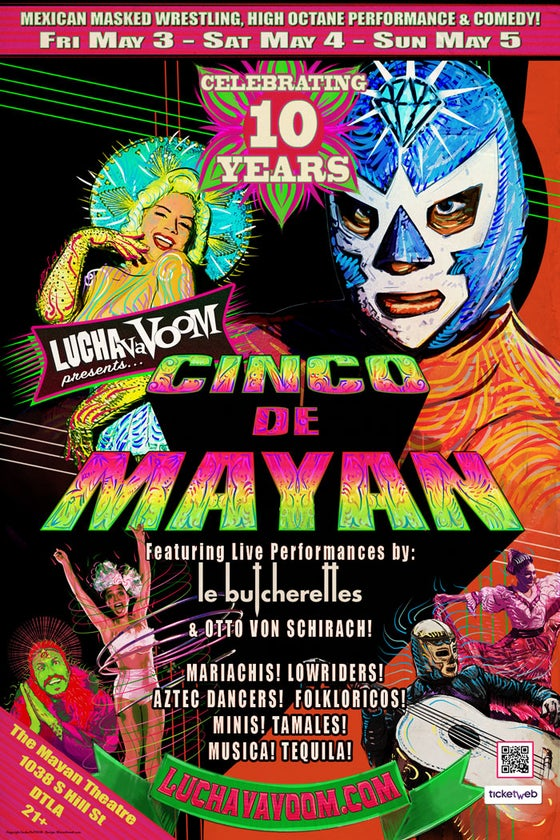 "Image of ""Cinco de Mayan"" 2019 Poster"