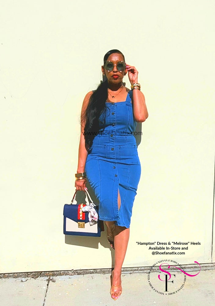 Image of HAMPTON DENIM DRESS