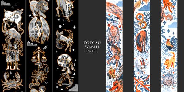 Image of Zodiac Washi Tape