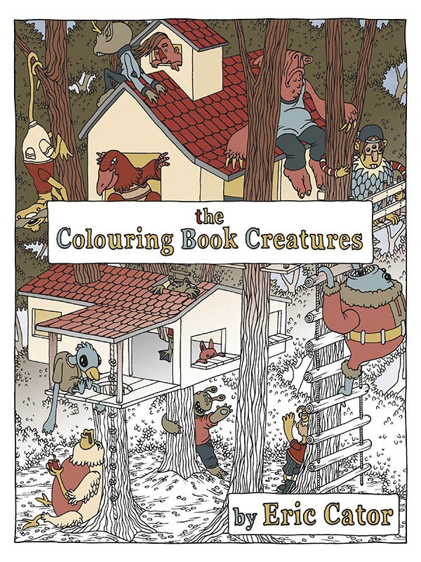 Image of Colouring Book Creatures - Colouring Book